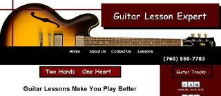 Guitar Lesson Expert website